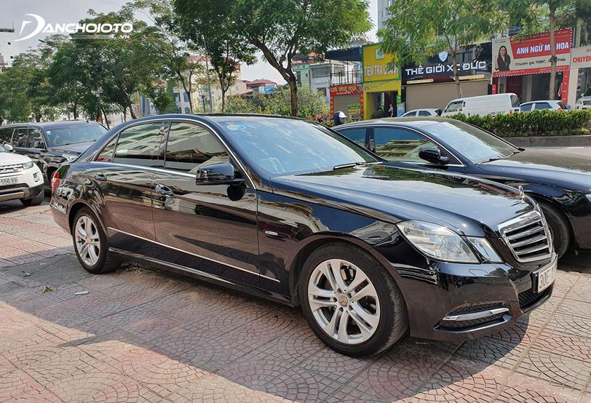 Xe ô tô Mercedes nói riêng hay châu Âu nói chung thường mất giá khá nhanh