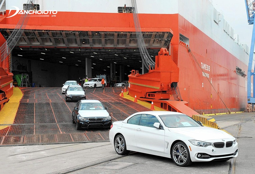 Xe ô tô nhập khẩu khu vực ASEAN được miễn thuế nhập khẩu