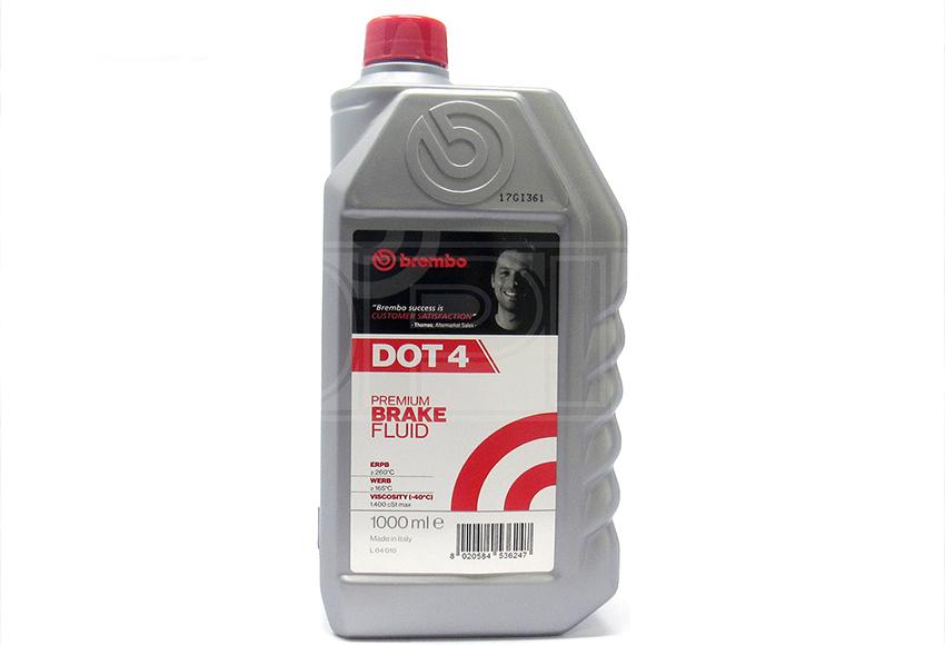 Nhiệt độ sôi của dầu phanh DOT 4 cao hơn DOT 3