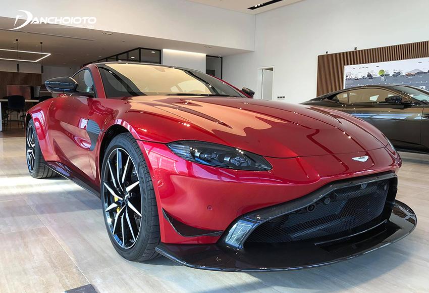 Aston Martin Vantage là một mẫu siêu xe thể thao 2 cửa