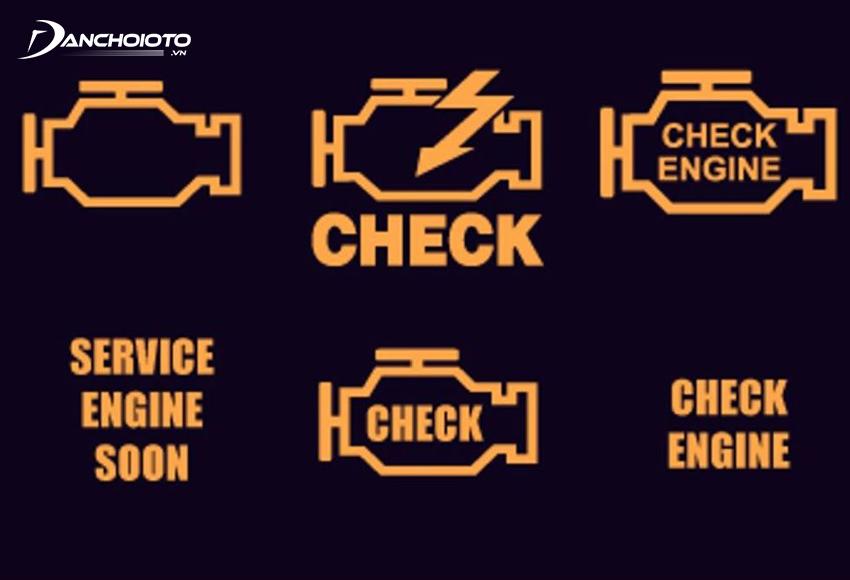 Các biểu tượng đèn Check Engine
