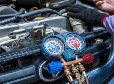 gas điều hoà ô tô