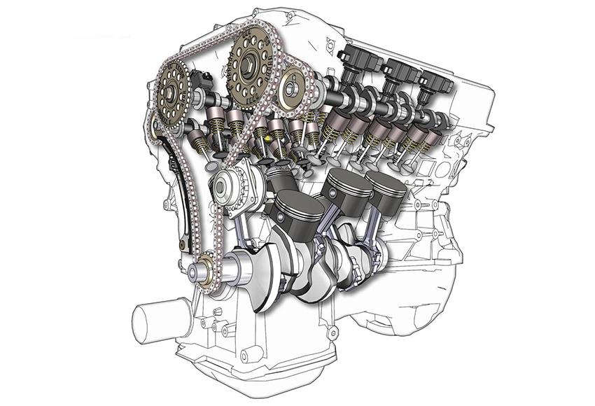 Động cơ ô tô càng nhiều xy lanh sẽ giúp tốc độ quay trục khuỷu phân bổ đều hơn