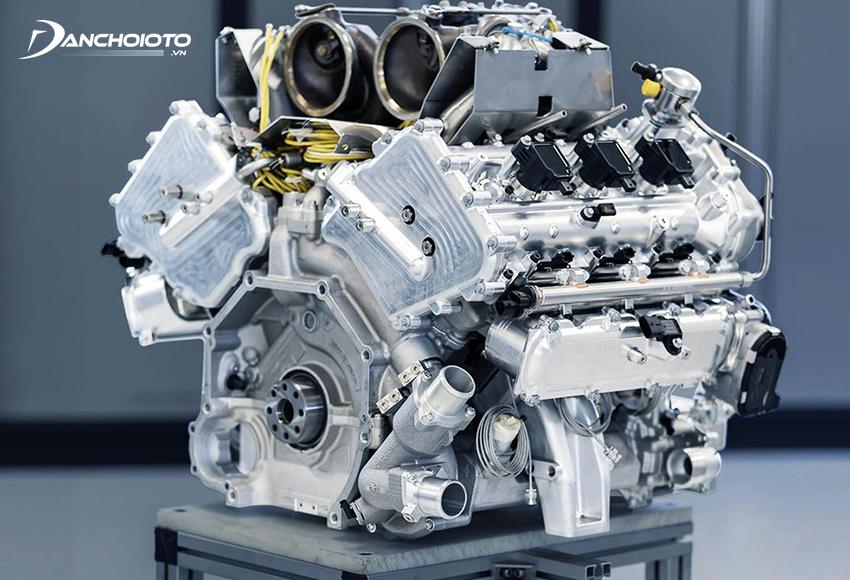 Động cơ V6 – 6 xy lanh (mỗi bên 3 xy lanh)