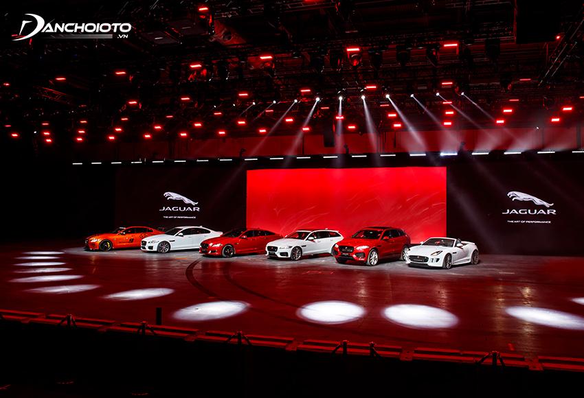 Jaguar là một thương hiệu xe sang đến từ nước Anh
