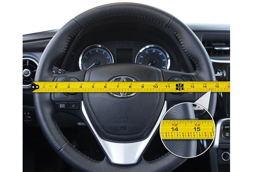 Khi mua bọc vô lăng ô tô cần chú ý đến kích thước