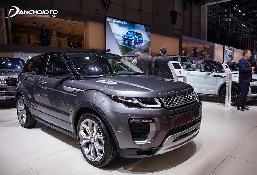 Mỗi chiếc xe Land Rover có thể tái chế được tối thiểu đến 85%
