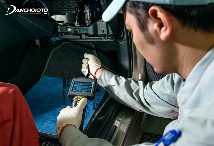 Nên bảo dưỡng điều hoà ô tô định kỳ sau mỗi 20.000 – 30.000 km
