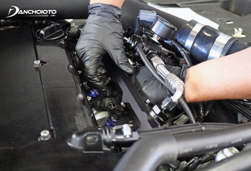 Nên vệ sinh kim phun ô tô sau mỗi 15.000 – 20.000 km vận hành