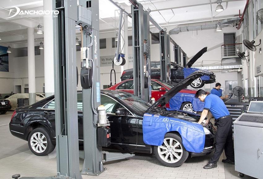 Nếu không có kinh nghiệm kiểm tra ô tô nên sử dụng dịch vụ kiểm tra xe ô tô cũ chuyên nghiệp