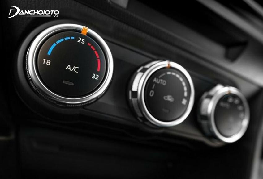 Nút chỉnh nhiệt độ điều hoà