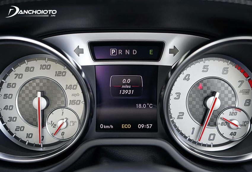 Ở chế độ không tải garanti vòng tua máy xe thường dưới 1.000 vòng/phút