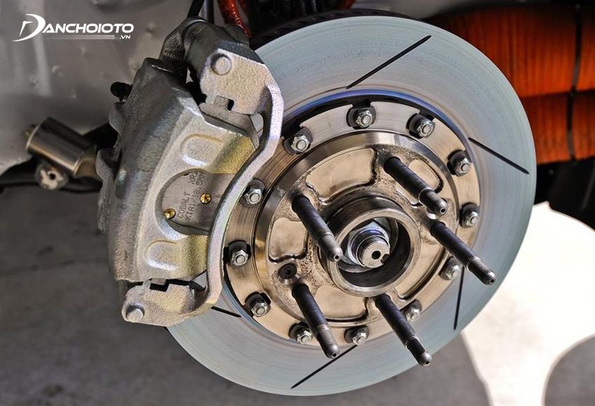 Phanh đĩa ô tô cho hiệu quả phanh cao