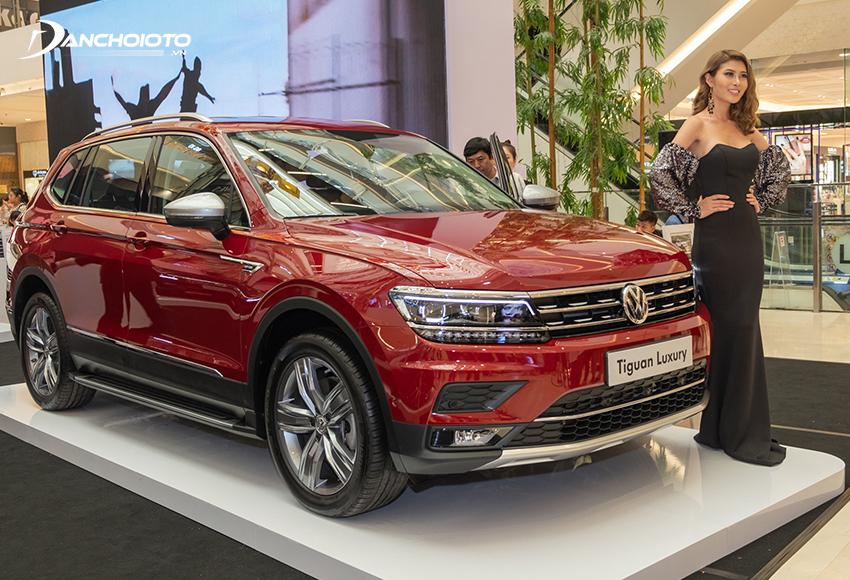 Volkswagen Tiguan Allspace thuộc phân khúc 7 chỗ cỡ trung tiệm cận hạng sang