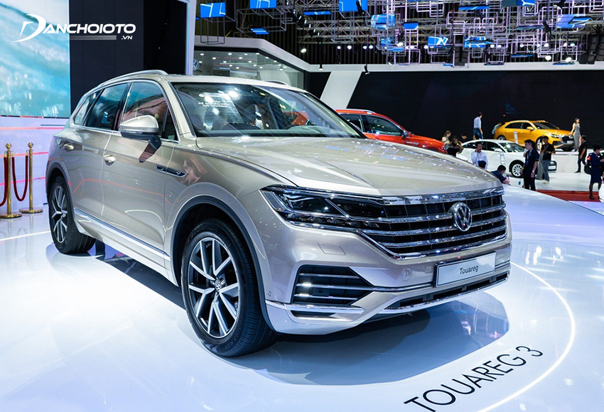 Volkswagen Touareg là xe 5 chỗ thuộc phân khúc SUV cỡ lớn