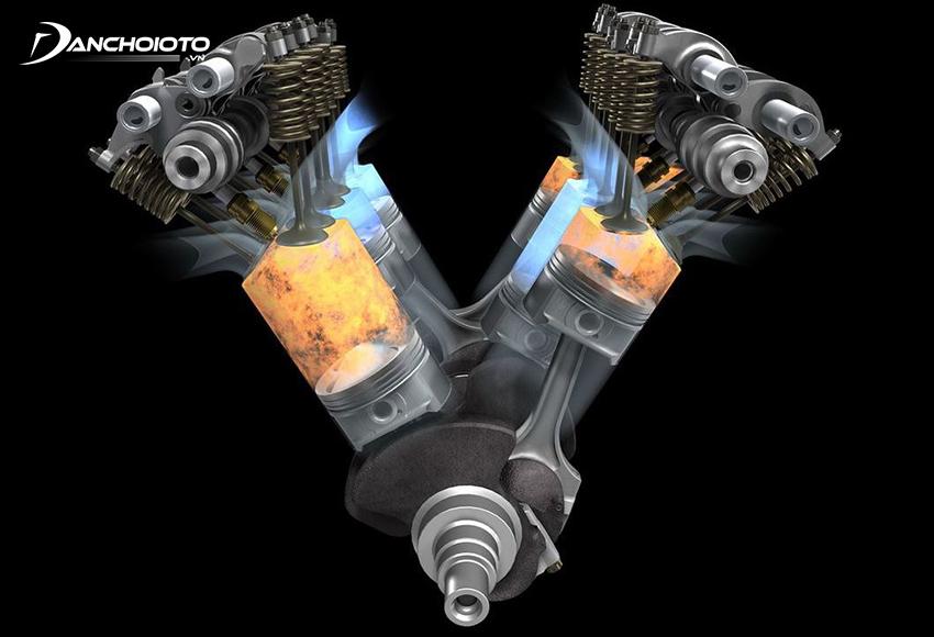 Xi lanh là nơi diễn ra quá trình đốt cháy hỗn hợp khí và nhiên liệu để piston di chuyển