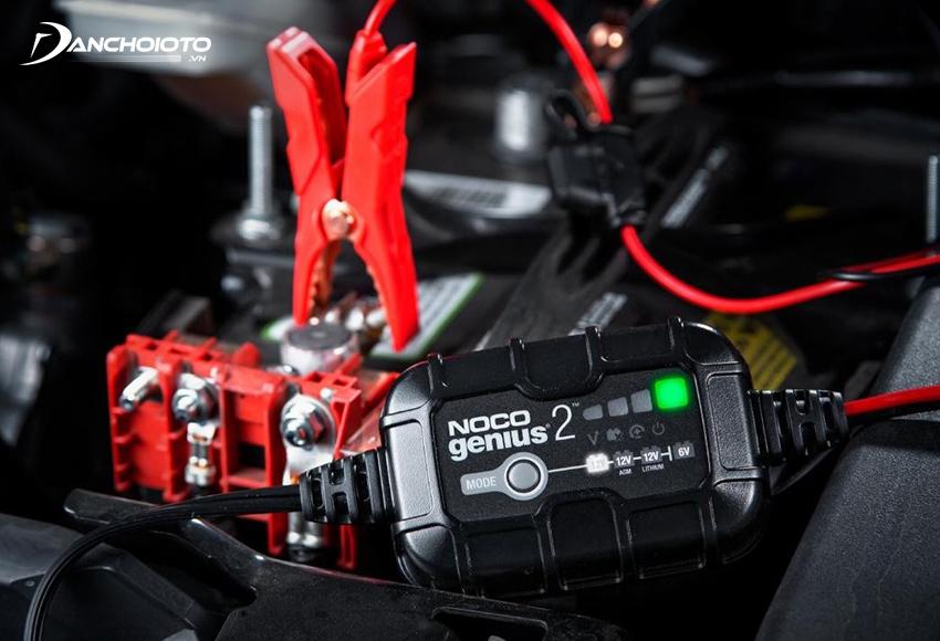 Bộ kích bình NOCO thường có dung lượng pin rất lớn