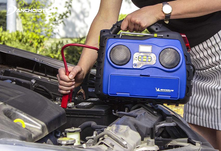 Các loại kích bình xe hơi Michelin được đánh giá cao về chất lượng, sở hữu dung lượng lưu pin lớn