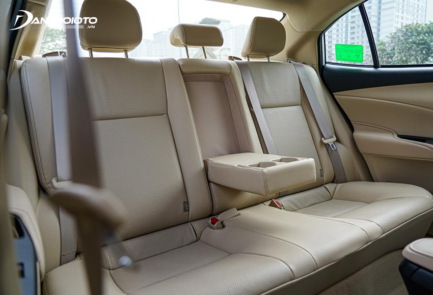 Hàng ghế sau Toyota Vios 2021