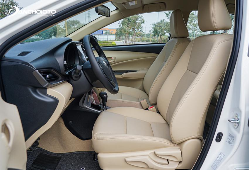 Hàng ghế trước Toyota Vios 2021