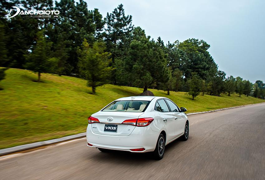 Hộp số CVT là lựa chọn phù hợp với dòng xe đô thị cỡ nhỏ như Toyota Vios