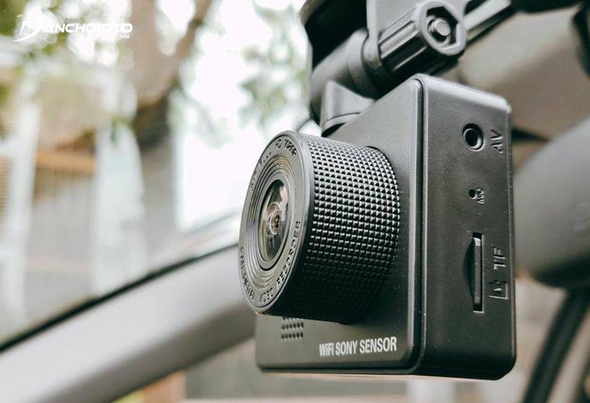 Nên mua camera hành trình xe hơi có góc quay từ 150 - 170 độ