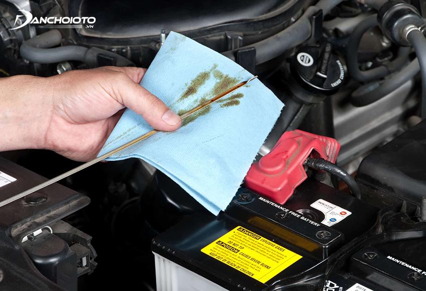 Nếu thấy xe có dấu hiệu hao dầu hơn bình thường nên kiểm tra càng sớm càng tốt