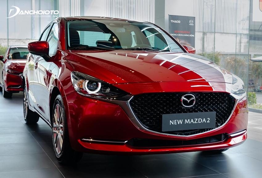So sánh Vios và Mazda 2, Mazda 2 nổi bật hơn về thiết kế và trang bị