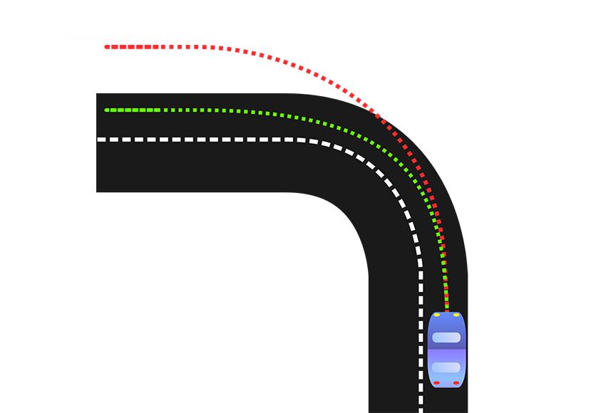Thiếu lái là hiện tượng khi vào cua, xe không ôm cua mà có xu hướng đi chệch về hướng ngược lại của vòng cua