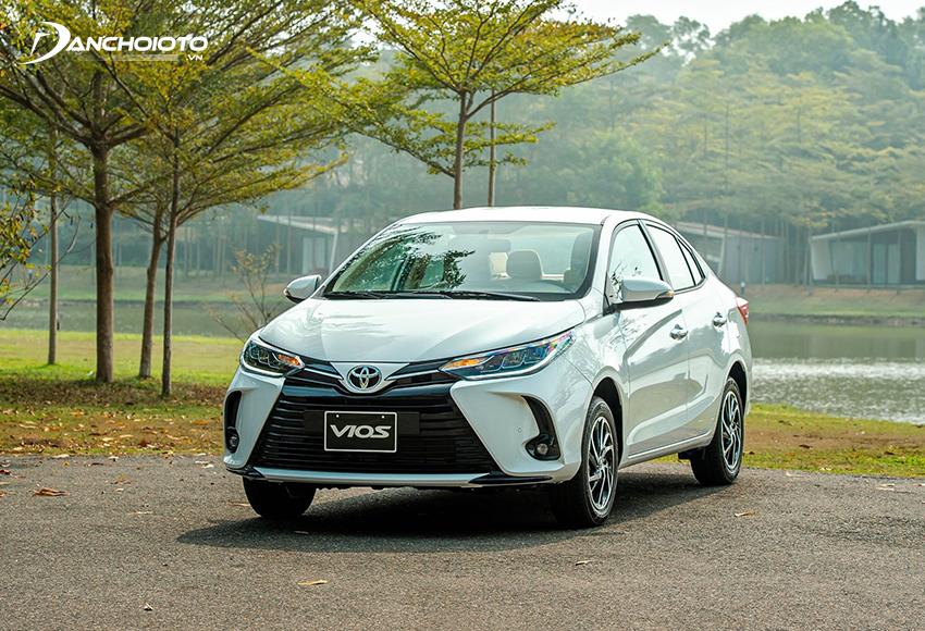Toyota Vios 2021 chủ yếu thay đổi về thiết kế