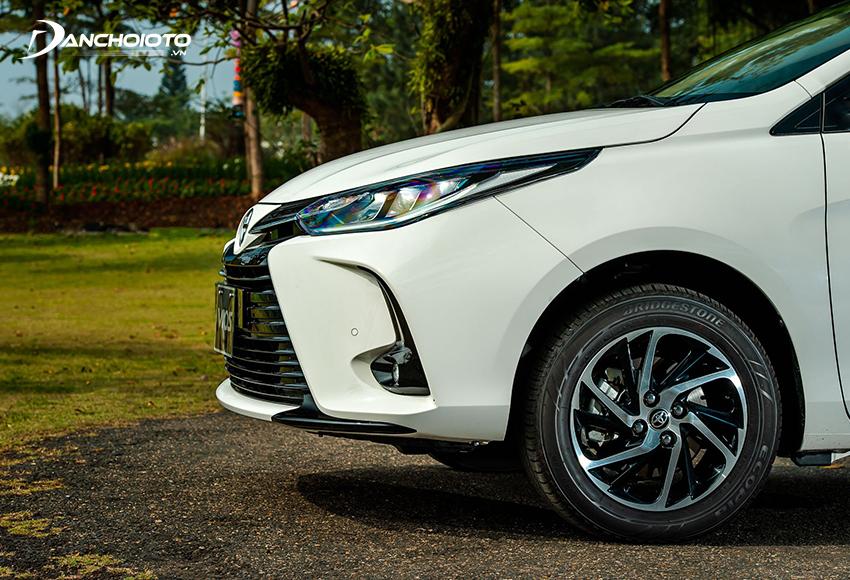 Toyota Vios 2021 có thiết kế lazang mới