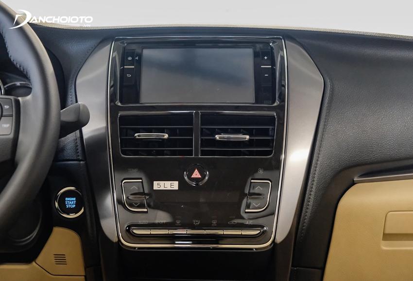 Toyota Vios 2021 được trang bị màn hình mới nhưng vẫn giữ kích thước 7 inch