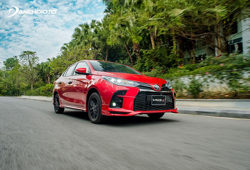 Toyota Vios 2021 êm ái nhờ hệ thống treo khá mềm