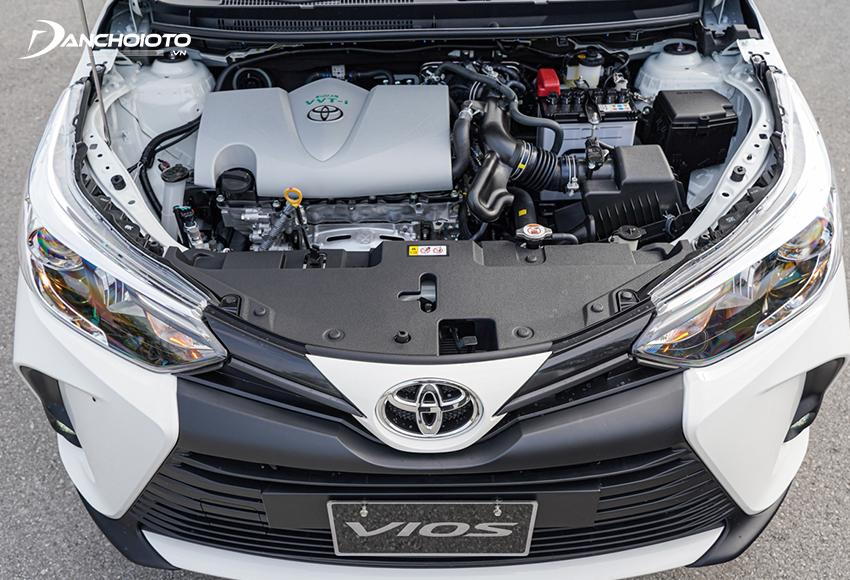 Toyota Vios 2021 tiếp tục sử dụng động cơ 1.5L Dual VVT-I như trước