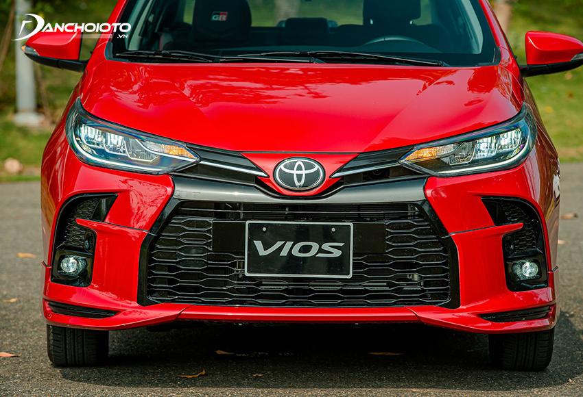 Toyota Vios GR-S có mặt calang hầm hố