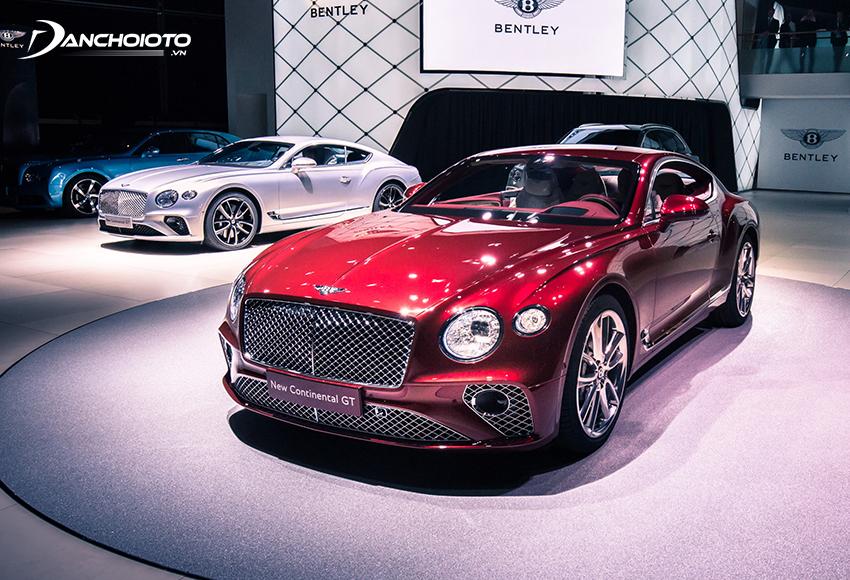 Bentley là một hãng sản xuất xe hơi hạng sang danh tiếng thế giới đến từ nước Anh