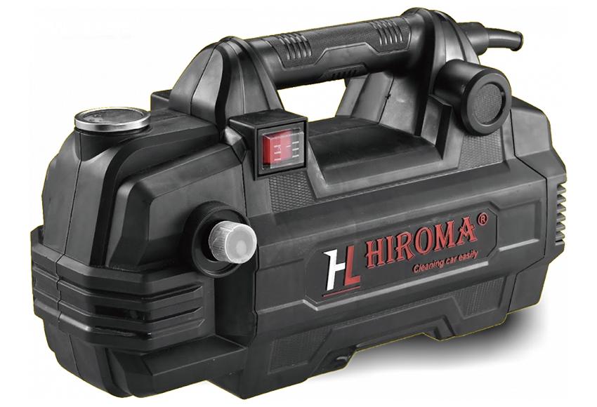 Các dòng máy rửa xe Hiroma có ưu điểm hoạt động êm ái, hiệu quả làm sạch tốt