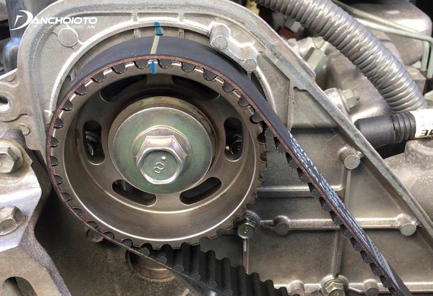 Dây đai cam bị đứt sẽ khiến động cơ không quay