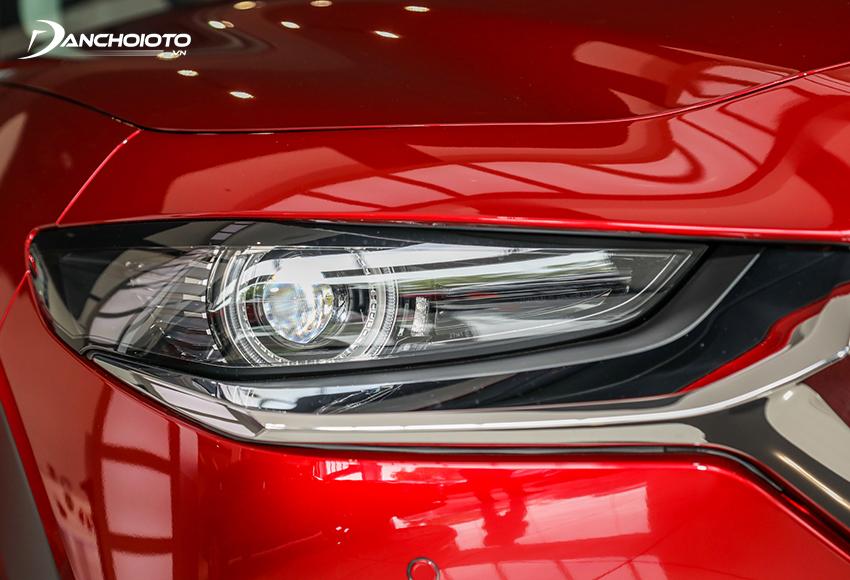 Đèn Mazda CX-30 2021 Full LED có Projector được tích hợp nhiều tính năng hiện đại