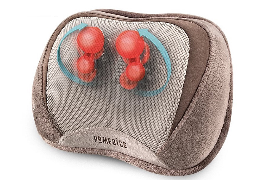Massage pillows help massage to soften muscles, thereby reducing muscle spasticity and muscle pain