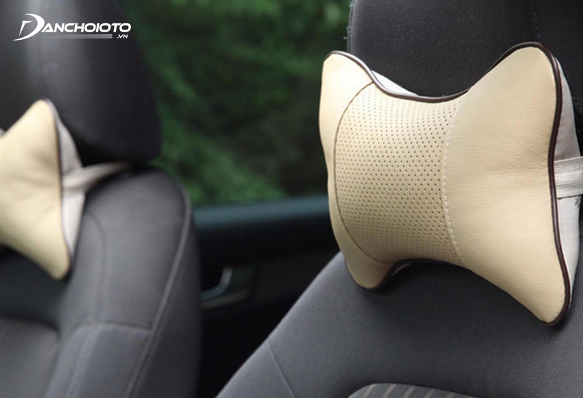 Bone-shaped car headrest