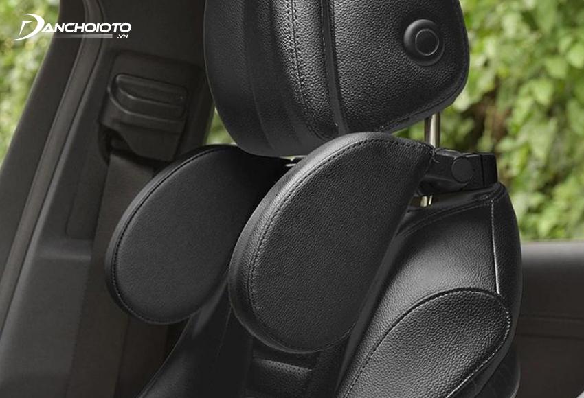 Car headrest while sleeping
