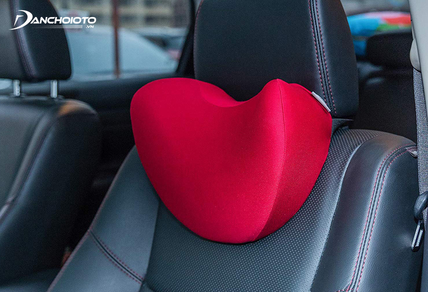 The foam car headrest is cheap, but has poor durability
