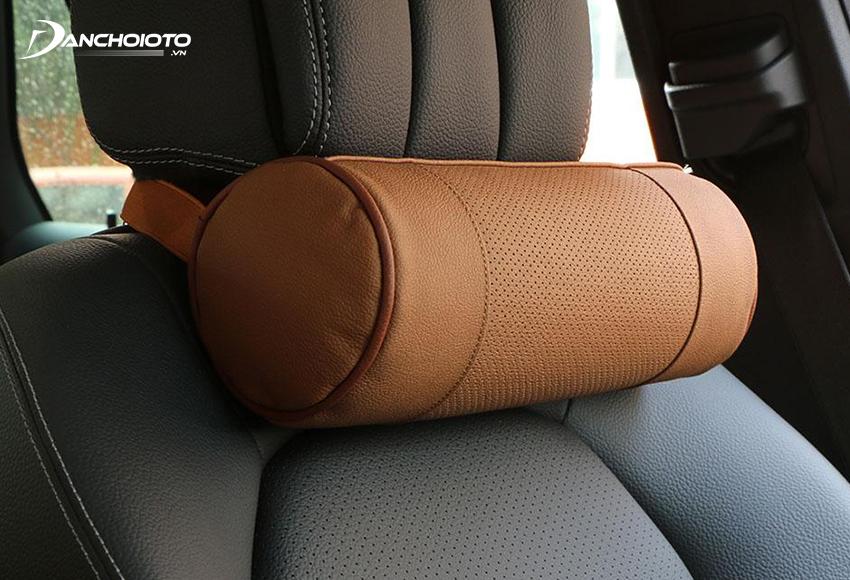 Round car headrest