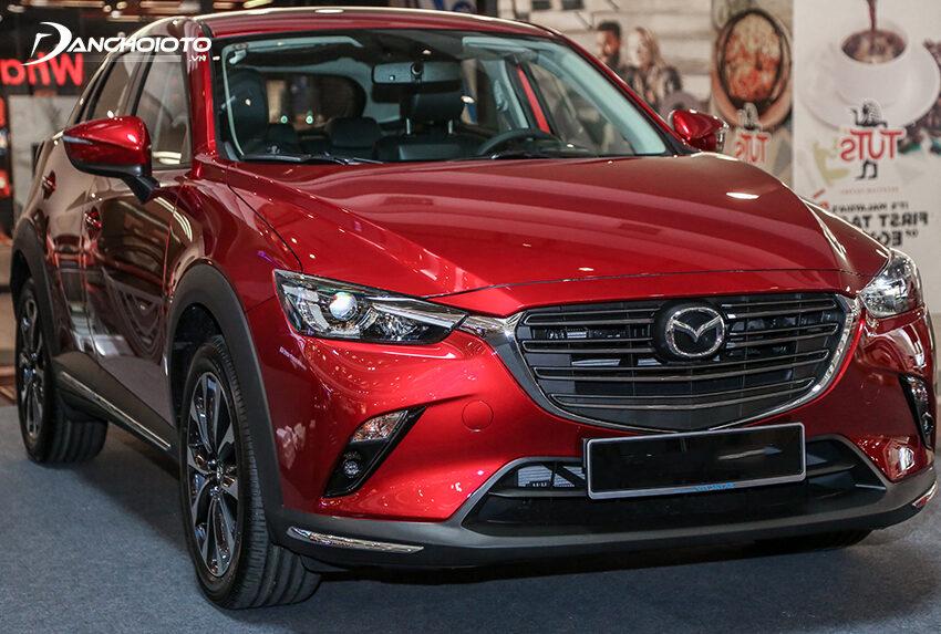 Mazda CX-3 2021 được đánh giá có giá bán khá hấp dẫn