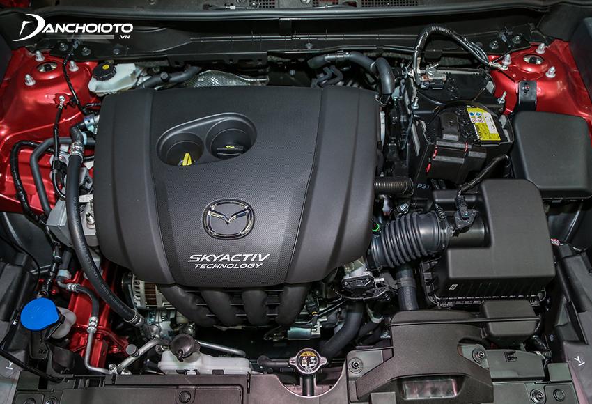 Mazda CX-3 2021 được trang bị động cơ xăng SkyActiv-G 4 xi lanh dung tích 1.5L