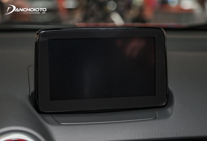 Mazda CX-3 2021 được trang bị màn hình xe cảm ứng 7 inch