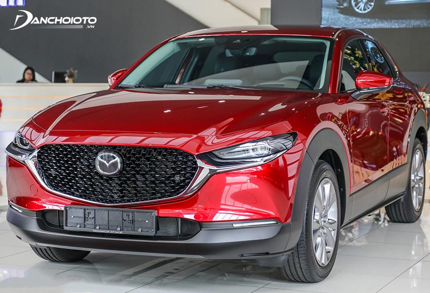 Mazda CX-30 2021 được nhập khẩu nguyên chiếc từ Thái Lan