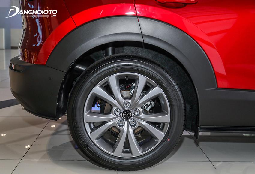 Mazda CX-30 2021 được trang bị mâm 18 inch