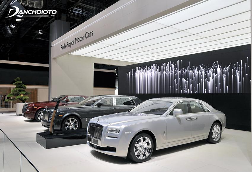 Rolls-Royce là một trong các thương hiệu ô tô hạng sang danh giá nhất đến từ nước Anh